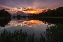 Закат над Миром